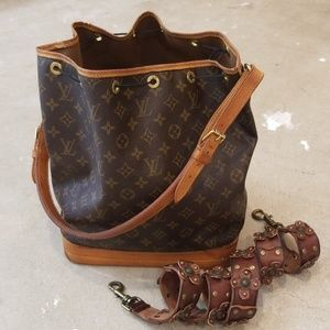 Authentic Louis Vuitton XL GM Noe Hobo Bag